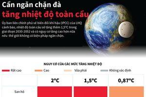 Liên hợp quốc: Cần ngăn đà tăng nhiệt độ toàn cầu