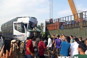 Video hiện trường vụ tai nạn giao thông liên hoàn trên quốc lộ 1A