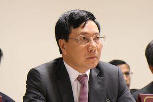 Phó Thủ tướng, Bộ trưởng Bộ Ngoại giao Phạm Bình Minh dự diễn đàn doanh nghiệp Việt - Anh
