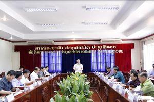 Đoàn đại biểu cấp cao Việt Nam thăm và làm việc tại tỉnh Viêng Chăn