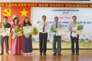 Hà Nội biểu dương 'Người tốt, việc tốt' ngành Y tế năm 2018