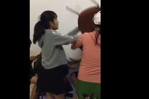 Xôn xao clip 'dạy con' trong quán trà sữa của bà mẹ trẻ