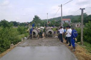 Hưng Yên: 41 tỷ đồng đầu tư đường trục xã Bạch Sam