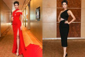 H'Hen Niê diện váy ôm sát khoe vòng ba xấp xỉ 1 mét tại sự kiện