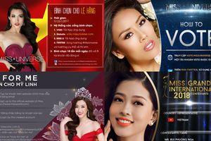 Nếu khán giả biết trước điều này, các nàng hậu Việt sẽ có cơ hội 'in top' tại đấu trường nhan sắc quốc tế?