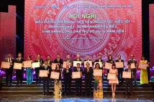Hà Nội: Trao 'Cúp Thăng Long' cho 20 doanh nghiệp tiêu biểu