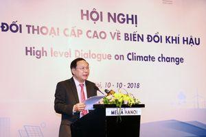 Đối thoại cấp cao về biến đổi khí hậu
