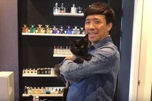 Trấn Thành đăng đàn hướng dẫn cách 'cho mèo uống thuốc', nhưng fan chỉ tập trung vào tủ hàng hiệu phía sau