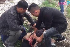 Hậu trường Cảnh bị đánh chết trong 'Quỳnh búp bê', chân thực đến từng chi tiết