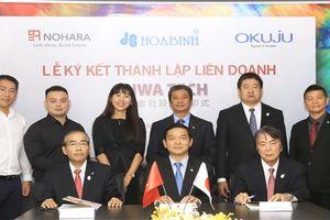 Hòa Bình cùng 2 tập đoàn Nhật Bản lập công ty kinh doanh nội thất tại Việt Nam