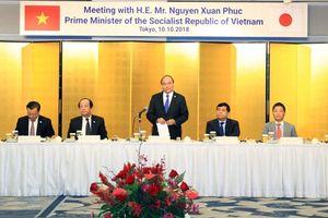 Thủ tướng kêu gọi doanh nghiệp Nhật Bản đầu tư vào các dự án công nghệ cao