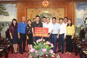 Bộ Xây dựng hỗ trợ Thanh Hóa 1.000 tấn xi măng