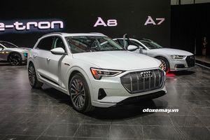 Cận cảnh SUV chạy điện hoàn toàn Audi e-tron