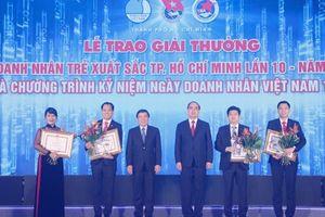 Chủ tịch VNG là 1 trong 10 doanh nhân trẻ xuất sắc TP.HCM 2018