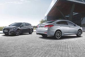 Hyundai cập nhật cải tiến thiết kế và động cơ cho cặp đôi i40 năm 2019