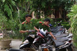 Triệt phá băng nhóm trộm cắp 18 xe máy ở Quảng Bình