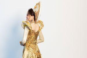 Hé lộ trang phục dân tộc được Á hậu Phương Nga mang đi thi quốc tế