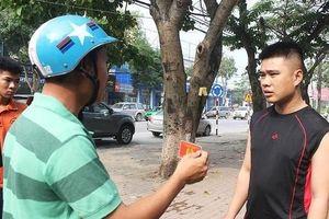 Khi nào cảnh sát giao thông được hóa trang tuần tra?