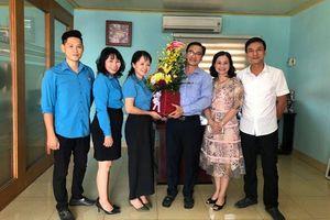 LĐLĐ quận Hải An (Hải Phòng) thăm, chúc mừng các doanh nghiệp nhân ngày Doanh nhân Việt Nam
