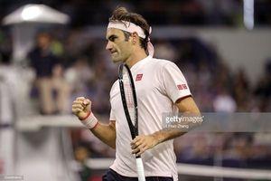 Vòng 2 Thượng Hải Masters: Federer thắng hú vía