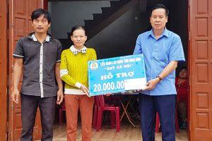 LĐLĐ tỉnh Ninh Bình: Vận động doanh nhân, nhà hảo tâm hỗ trợ xây dựng 2 'Mái ấm công đoàn'