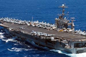Tàu sân bay Mỹ dội lửa sát nách Nga