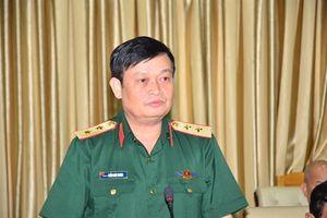 Phó Đô đốc Trần Hoài Trung chính thức nhận nhiệm vụ Chính ủy Quân khu 7