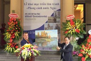 'Phong cảnh nước Nga' đến với Hà Nội