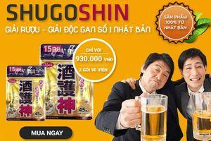 Cục An toàn thực phẩm cảnh báo thông tin quảng cáo thực phẩm Shugoshin