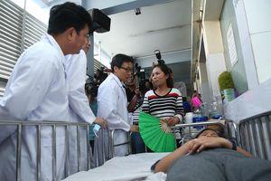 Phó Thủ tướng thị sát công tác chống dịch tay chân miệng, sởi tại TPHCM