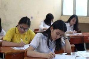 Học sinh Hà Nội thi lớp 10 với bốn môn