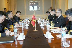 Thúc đẩy quan hệ hữu nghị, hợp tác giữa Hải quân VN với Hải quân các nước