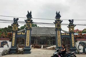 Kỷ luật 3 cán bộ xã liên quan đến vụ 'bê tông hóa' đình 300 tuổi ở Hà Nội