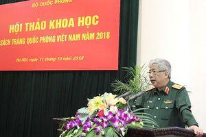 Chuẩn bị công bố Sách Trắng Quốc phòng Việt Nam 2018