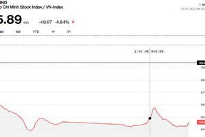 Chứng khoán chiều 11/10: Hàng loạt mã nằm sàn, VN-Index giảm 48 điểm