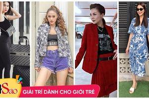 Street style sao Việt: Thanh Hằng - Minh Hằng chất chơi đẹp cả đôi, Hà Tăng tối giản vẫn thần thái