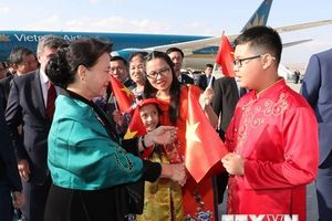 Chủ tịch Quốc hội Nguyễn Thị Kim Ngân bắt đầu thăm Thổ Nhĩ Kỳ
