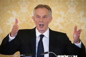 Ông Tony Blair: Cơ hội 50-50 cho cuộc trưng cầu ý dân Brexit lần hai