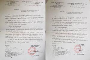 Sở Y tế Hà Nội lên tiếng việc thu hồi phiếu tiếp nhận công bố 2 sản phẩm An nữ Thảo Khang và Vĩnh Hồng Xuân