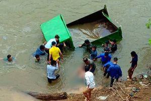 Bất cẩn trong lúc lùi xe ô tô tự chế rơi xuống suối, nam thanh niên 17 tuổi tử vong