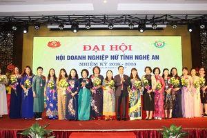 Hội Doanh nghiệp nữ Nghệ An hội nhập cùng đất nước