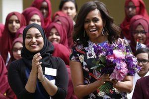 Bà Michelle Obama truyền cảm hứng cho nhiều nữ sinh trên thế giới được đến trường