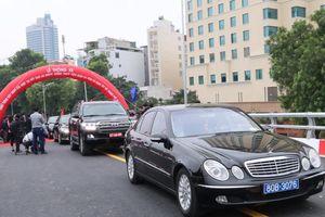 Hà Nội: Thông xe cầu vượt An Dương - cầu khung thép thứ 11 của Hà Nội