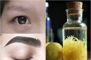 6 mẹo kích thích lông mày mọc nhanh và rậm hơn