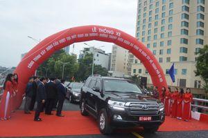 Hà Nội chính thức thông xe cầu vượt nút giao An Dương - đường Thanh Niên