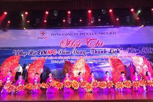 Khai mạc Hội thi 'Phụ nữ EVNNPC Đảm đang - Thanh lịch'