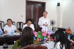Đoàn ĐBQH tỉnh làm việc với Cục Thuế Thanh Hóa