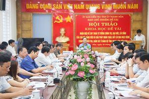 Học tập và làm theo tư tưởng Chủ tịch Hồ Chí Minh về 'khéo kiểm soát'