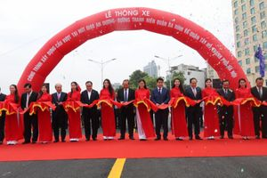 Hà Nội thông xe cầu vượt hơn 300 tỷ đồng ở nút giao nút giao An Dương - Thanh Niên
