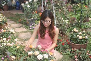 Khởi nghiệp từ tình yêu với cây hoa hồng
